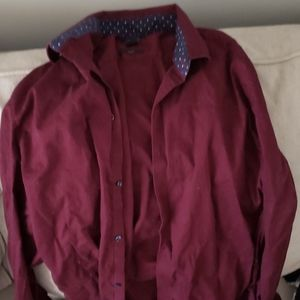 H&M XL slimfit dress shirt
